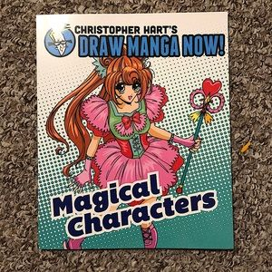 Draw Manga Now Magical Characters Drawing Book